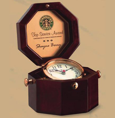 "Cherry ""Captain's"" Clock"