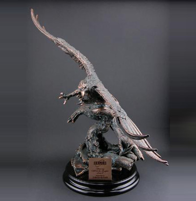 Antique Copper Finish Eagle