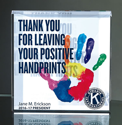 Acrylic Block with Full Color Direct Digital Print
